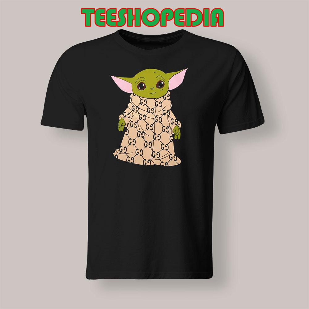 Tshirt Baby Yoda Gucci Robe Tshirt Tops And Tees Tshirt Tshirt Tshirt