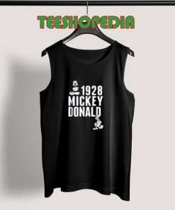 1928 Mickey & Donald Tank Top for Men and Women Size S – 3XL