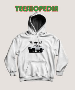 1966 Ford Bronco Hoodie Women and Men Size S – 3XL
