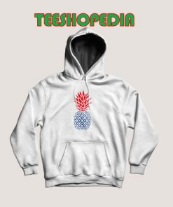 4th of july Pineapple Hoodie Women And Men Size S – 3XL