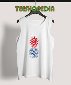 4th of july Pineapple Tank Top Women And Men Size S – 3XL