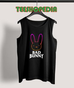 Bad Bunny Classic Tank Top Women and mens Size S – 3XL