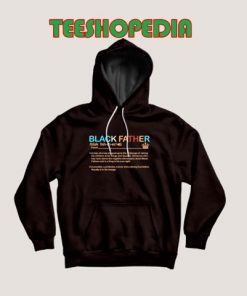 Black Father Definition Hoodie Pride Black Lives Matter Size S – 3XL