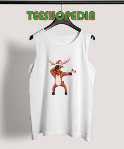 Canada Day Dabbing Tank Top Canadian dabbing Moose Size S – 3XL