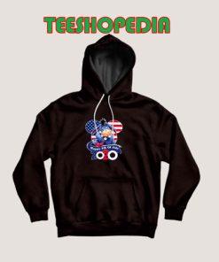 Eeyore Happy July Hoodie 4thh of July America Flag Size S – 3XL
