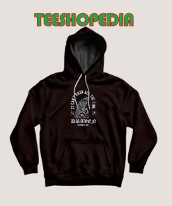 Eric Draven The Crow Hoodie It Can't Rain All The Time Size S – 3XL