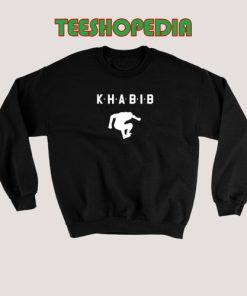 Khabib Nurmagomedove Sweatshirt Khabib Jump Top Size S – 3XL