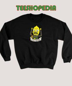Lemongrab Cartoon Sweatshirt Women and men Size S – 3XL