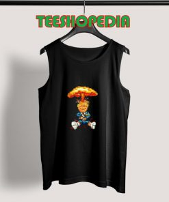 Nuclear Trump Cartoon Tank Top Women and Men Size S – 3XL
