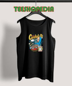The Great Cornholio Tank Top Are You Threatening Me Size S – 3XL