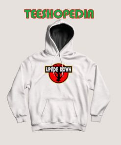 Upside Down Jurassic Hoodie Park Stranger Things Size S – 3XL