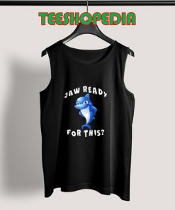 Funny Shark Jaw Tank Top Women and man S – 3XL