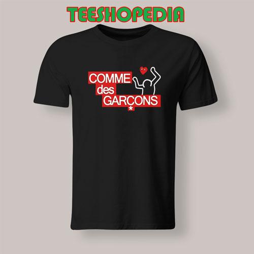 Comme Des Garcons T-Shirt Women and Men S – 3XL