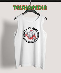 Santa White Claw Christmas Tank Top 247x296 - Sustainable Funny Shirts