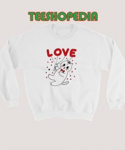 Cat Valentine Day Sweatshirt 247x296 - Sustainable Funny Shirts