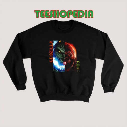 Godzilla vs Kong 2021 Sweatshirt