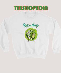 Rick Sanchez And Morty Smith Sweatshirt 247x296 - Sustainable Funny Shirts