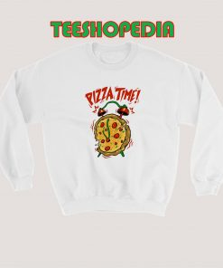 Pizza Time Sweatshirt 247x296 - Sustainable Funny Shirts