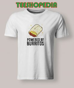 Powered By Burritos T Shirt 247x296 - Sustainable Funny Shirts